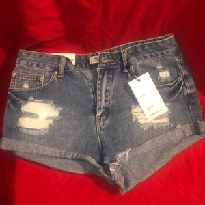 NWT Jean Forever 21 Shorts